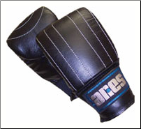 Pre-curved Bag Gloves Leather